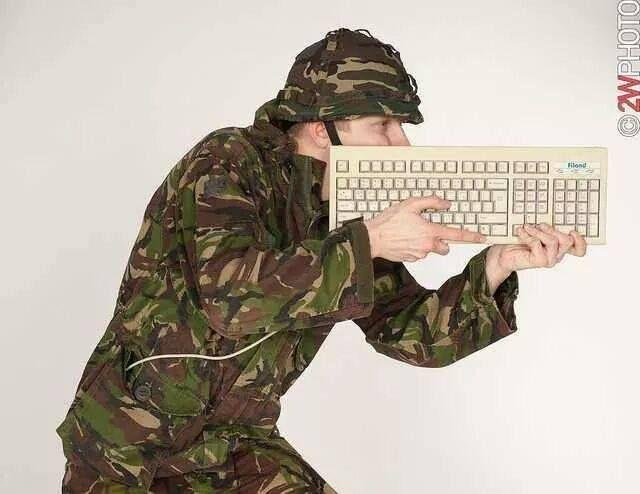 keyboard soldier | Keyboard warrior, Keyboard, Warrior
