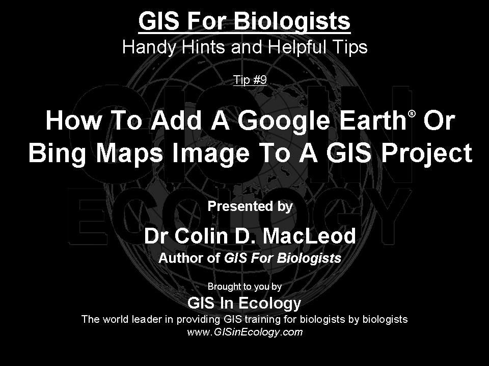 How To Add A Google Earth Or Bing Maps Image To QGIS Project