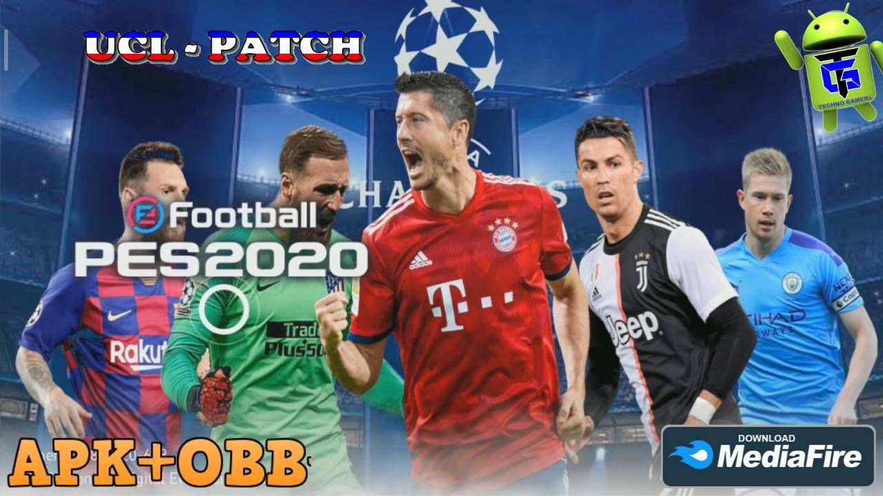 eFootball PES 2020 UCL Patch Android Best Graphics
