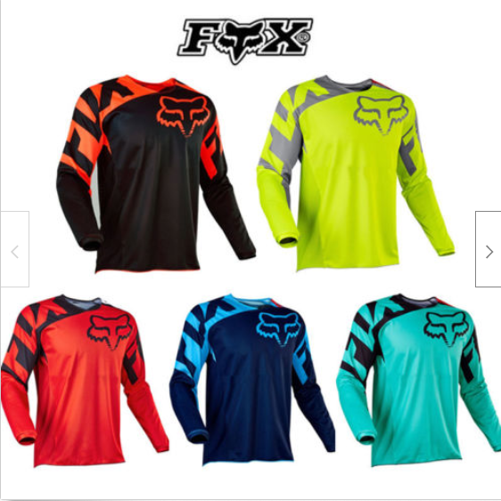 Men/'s Top Fox 180 Race Dirt Jersey ATV MX Off-Road Motocross DH MTB Cycling Bike