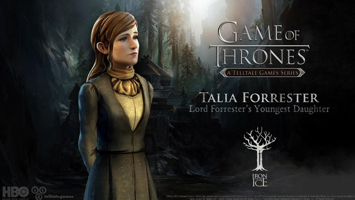 Game Of Thrones Talia Forrester Game Of Thrones Telltale Download Games Hbo
