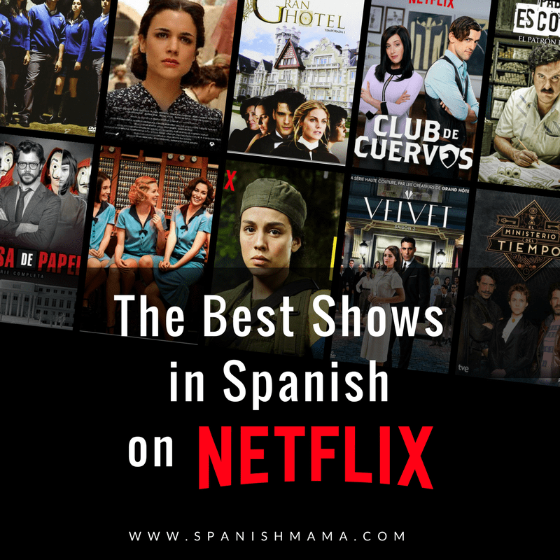 Spanish Movies and Shows Learning spanish, Spanish