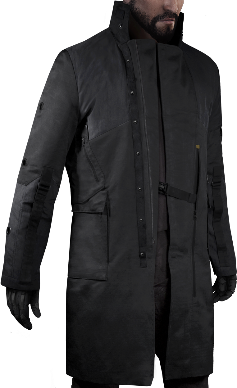 d7d141a9b4c Jensen v4.0 Limited Edition by  musterbrand The latest version of Adam  Jensen s coat is a replica of the in-game version. The digital master has  been ...