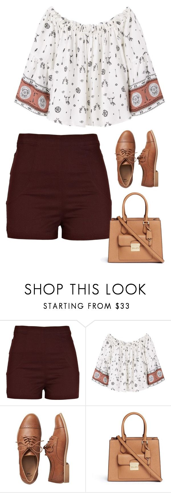 """""""Sin título #4577"""" by xoxominyeol ❤ liked on Polyvore featuring River Island, MANGO, Gap and Michael Kors"""