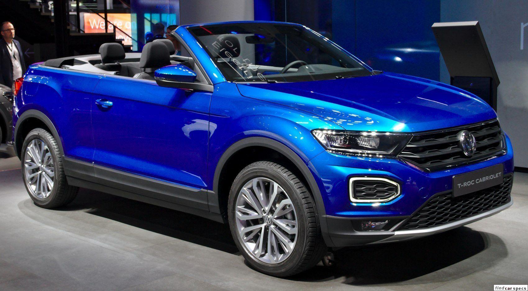 Volkswagen Troc T Roc Cabriolet 1 5 Tsi 150 Hp Dsg Act Opf Petrol Gasoline 2019 T Roc Cabriolet In 2020 Volkswagen Volkswagen Models Turbocharger