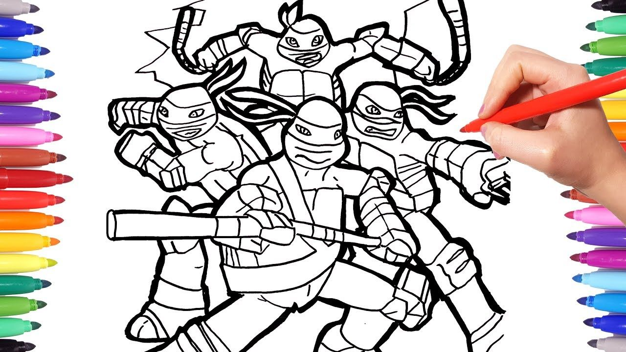 Free Ninja Turtle Coloring Pages # ...