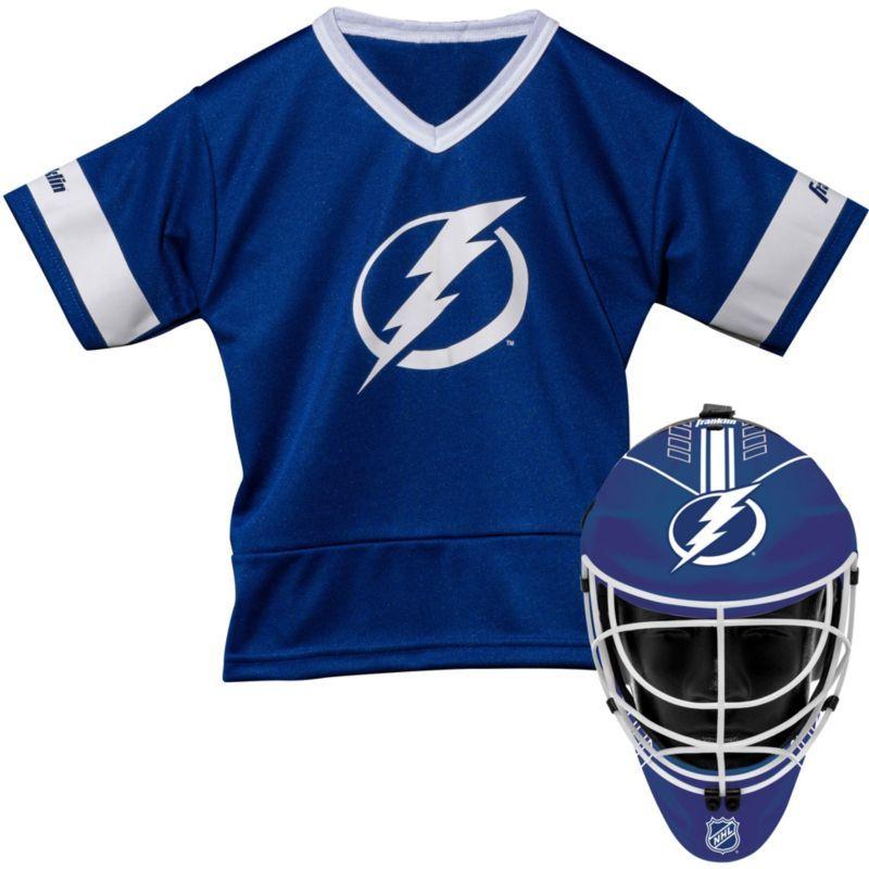 93e6f5da Franklin Tampa Bay Lightning Kids' Goalie Costume Set, Team ...