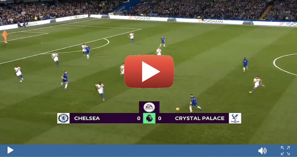 Chelsea V Crystal Palace Live Stream Premier League