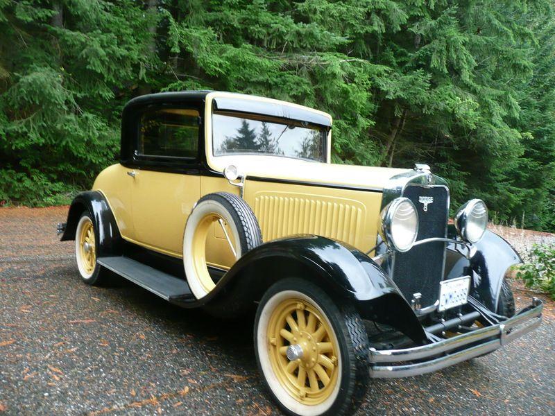 1930 Dodge DC8 Business Coupe | Cars 1920-1939 | Pinterest | Cars ...