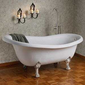 I will remodel the beach house bathroom around this tub...then spend hours in it!
