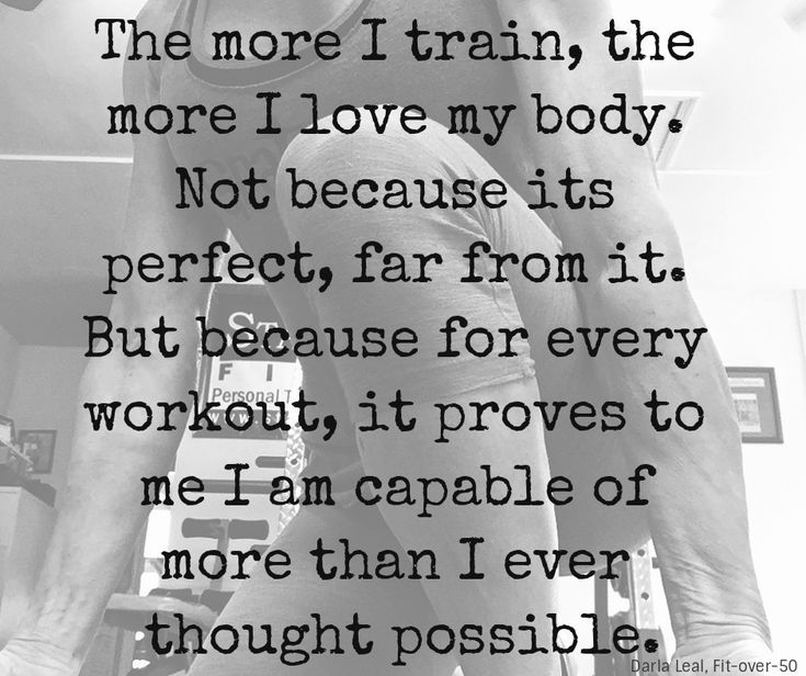 Why Looking Like Myself is an Important Part of Fitness