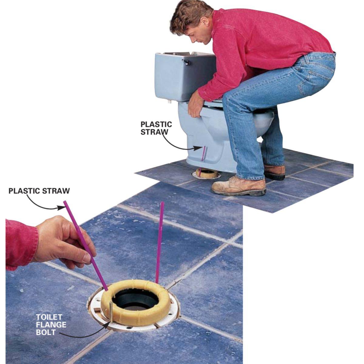 Easier Toilet Mounting Diy Bathroom Storage Diy Plumbing Diy Handyman