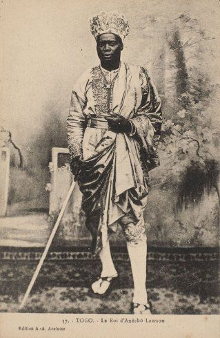 King lawson of anecho togo 1933 king in a lifetime pinterest king lawson of anecho togo 1933 publicscrutiny Images