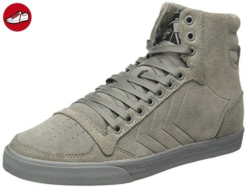 Slimmer Stadil Duo Oiled High, Sneakers Hautes Mixte Adulte, Gris (Castle Rock), 37 EUHummel