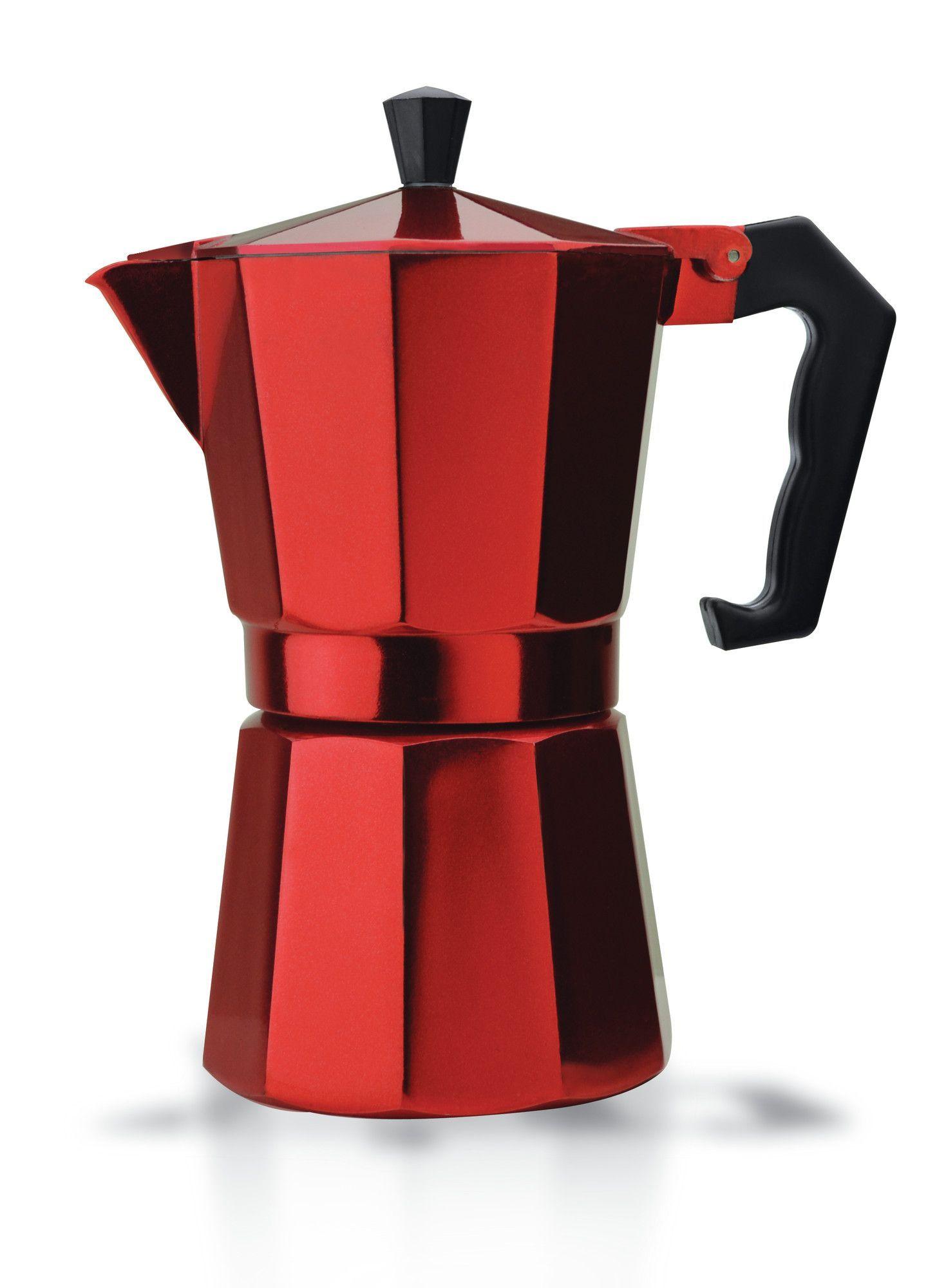 Primula Stove Top Aluminum 6Cup Espresso Maker Espresso