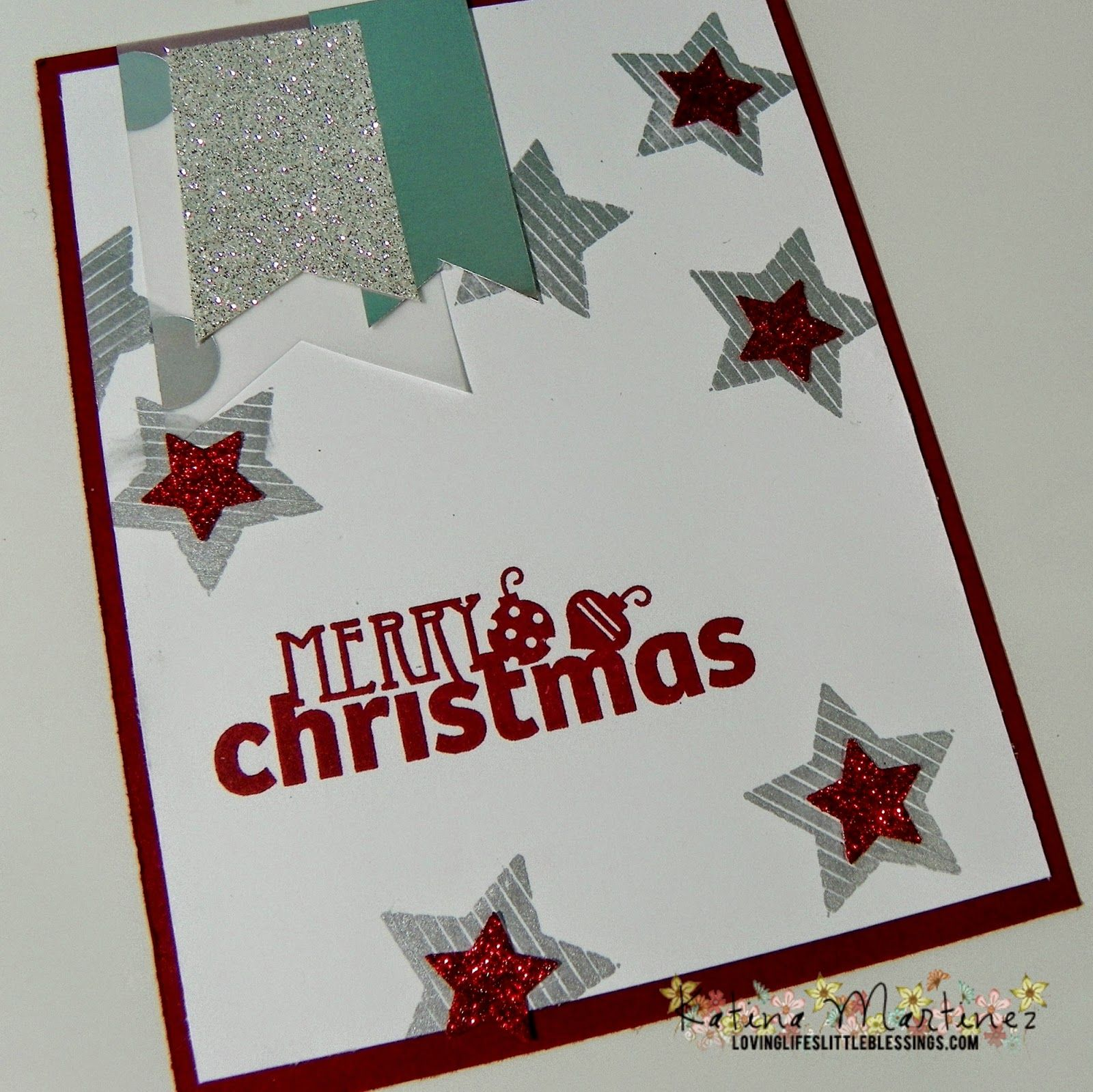 Stampin up christmas bliss august big shot sale loving lifes christmas cards m4hsunfo