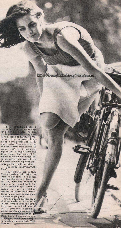 "Tina Aumont (1946-2006). ""Modesty Blaise"", regia di Joseph Losey (1909-1984), 1966"