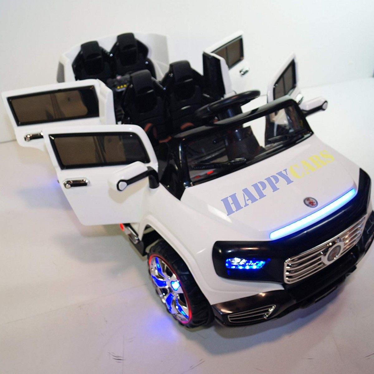 Electric Cars For Kids 4 Seater Best Of Children Ride On Sx1528 White 4 Doors Kids Car Baby In 2020 Kids Ride On Toys Toy Cars For Kids Bmw Electric Car
