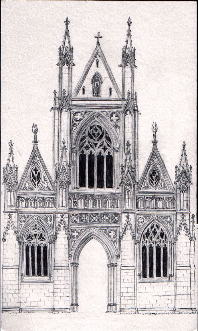 Gothic architecture google cathedral pinterest for Castle architecture design