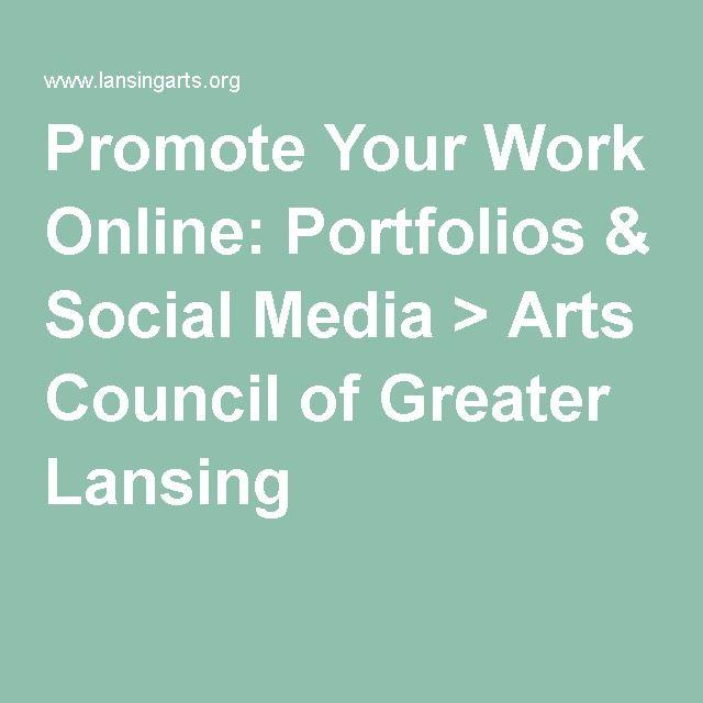 Promote Your Work Online Portfolios  Social Media \u003e Arts Council - client information sheet template
