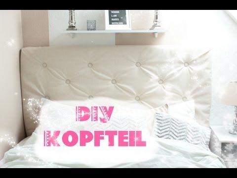 DIY Kingsize Bett Kopfteil Einfach Selber Machen! ♥