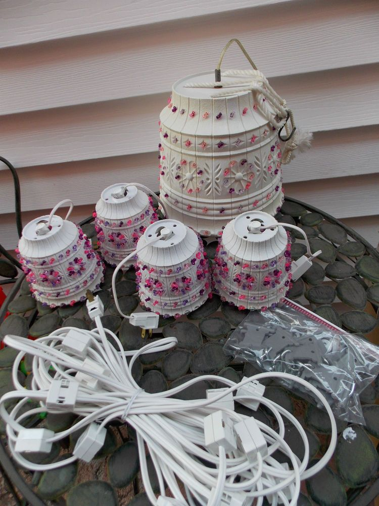 Vintage Lawnware Tiki String Light Patio Camping Rv Party Ultimate