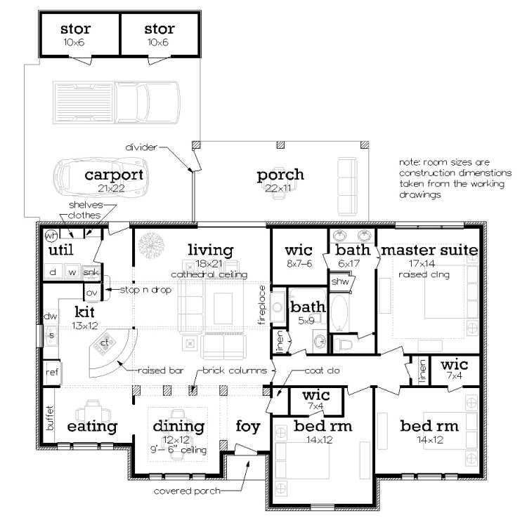 Energy Efficient Ranch Style House Plan 7255 Oak Harbor Floor Plans Ranch Ranch Style House Plans Simple Floor Plans