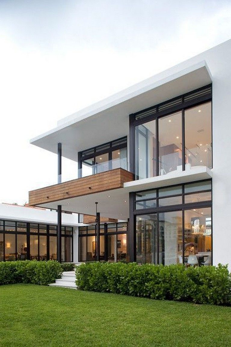 10 Inspiring House Architecture That Cool And Trendy Modern Minimalist House Modern Exterior House Designs Architecture House