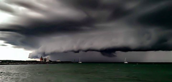 Sunday August 2 Worst Summer Storm In Traverse City Clouds Beautiful Sky Weather Photos