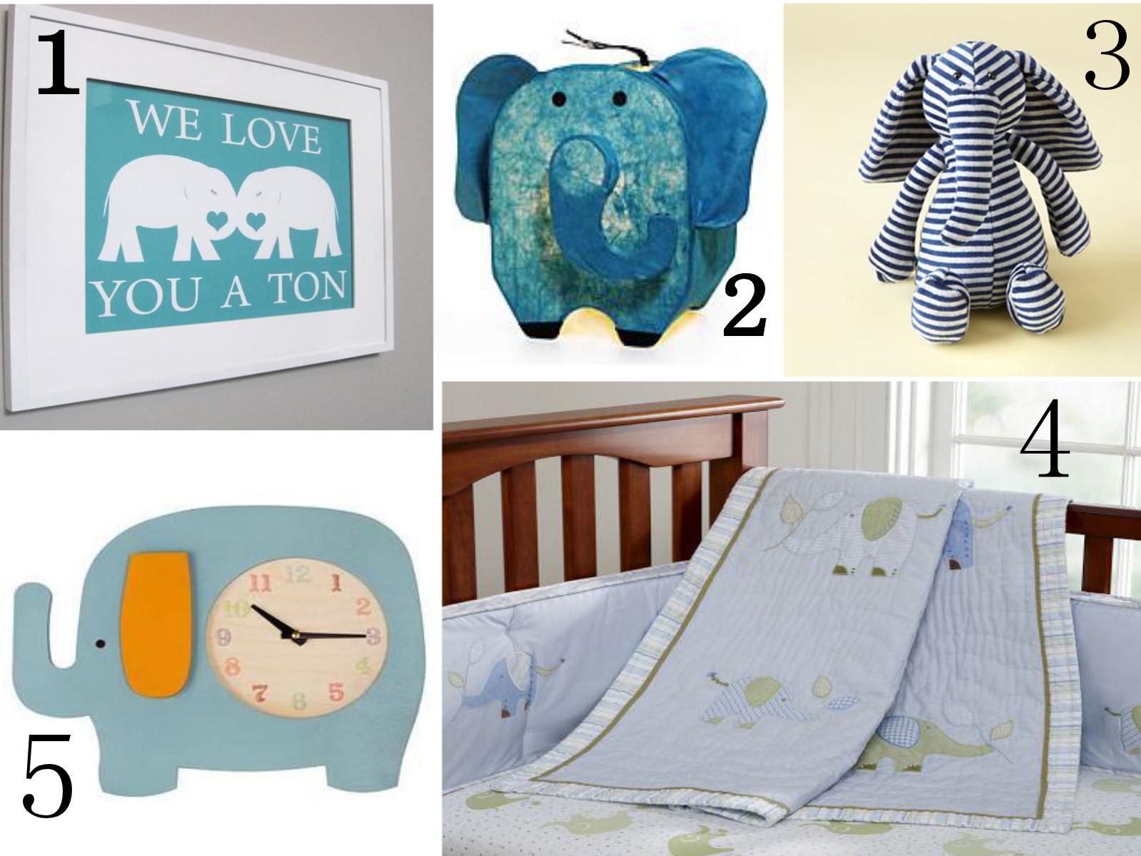 Next Stop Baby Elephant Nursery