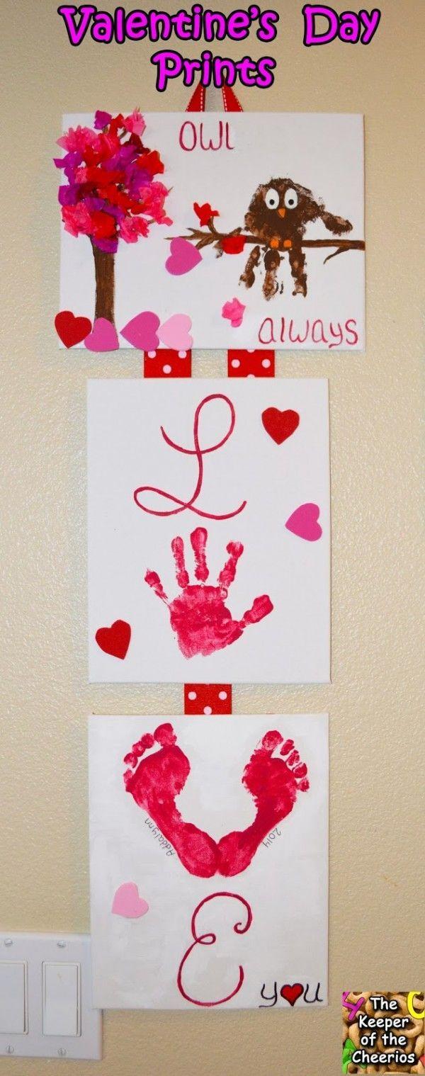 DIY Kid's Craft Valentine's Day Gift