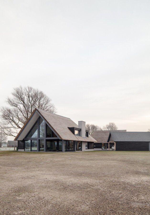 Ontwerp Door Atelier Road Aannemer Karsten Bv Architectuur Huis Huis Buitenkant Architectuur