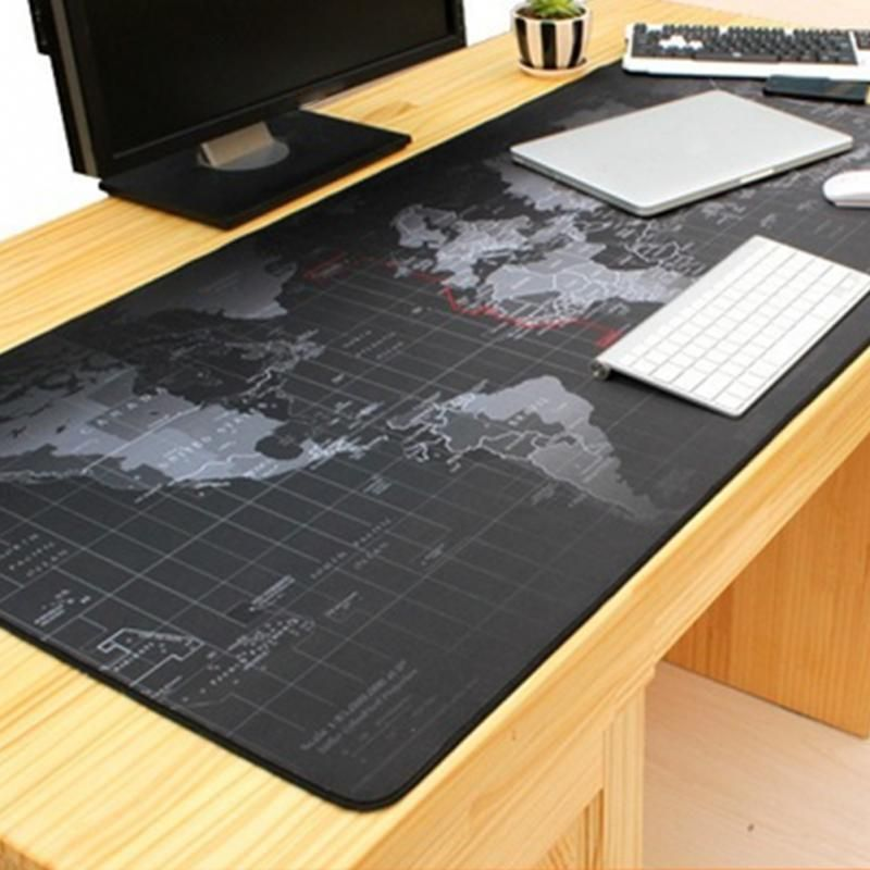 Rubber Cloth Large Gaming Mouse Pad Extended Big Size Desk Computer Mat Mousepad