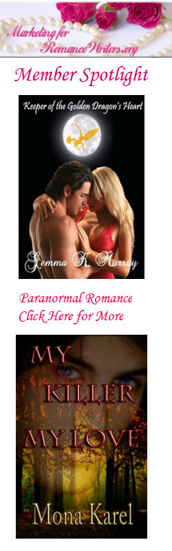 MARKETING FOR ROMANCE WRITERS MEMBER SPOTLIGHT - Paranormal like you've never seen it before.