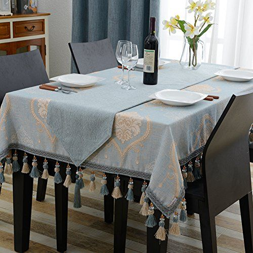 European Style Living Room Restaurant Table Linen,Tablecloth Tablecloth  Square Coffee Table Tablecloth A 60x60cm(24x24inch)