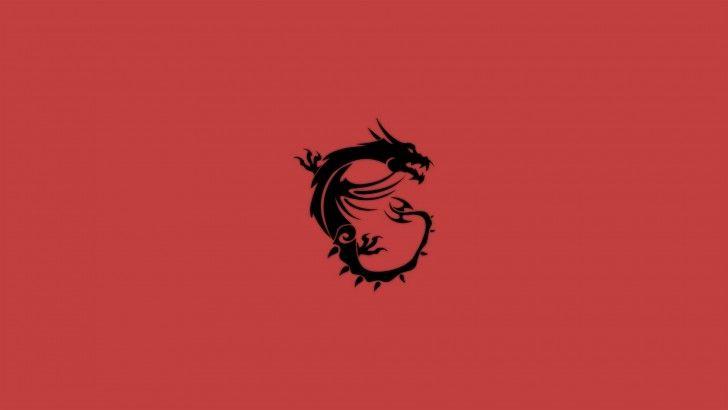 Download Msi Dragon Logo Wallpaper Red 1920x1080