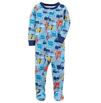 dcd179377 Carter s Baby Boys  12M-5T 1 Piece Construction Snug Fit Cotton Pjs ...