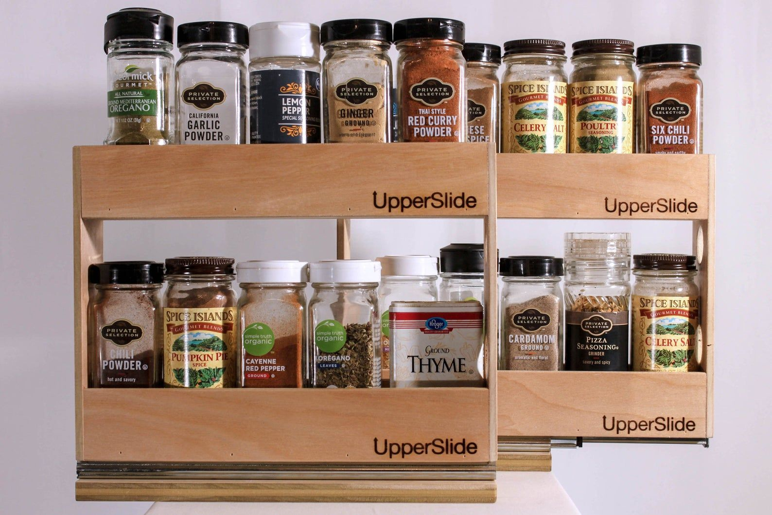 Upperslide Caddies Pull Out Spice Rack Etsy