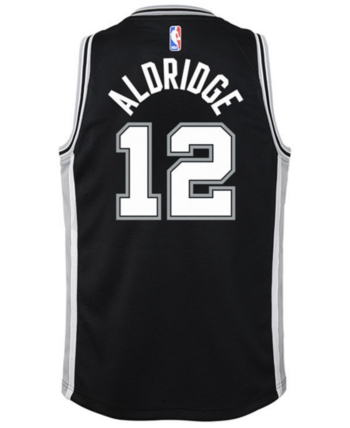 89e91fb82 Nike Lamarcus Aldridge San Antonio Spurs Icon Swingman Jersey