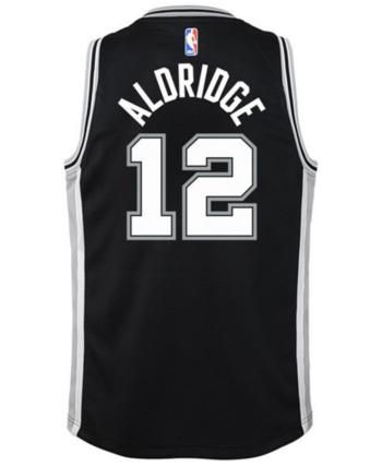 5eb3cee6f Nike Lamarcus Aldridge San Antonio Spurs Icon Swingman Jersey