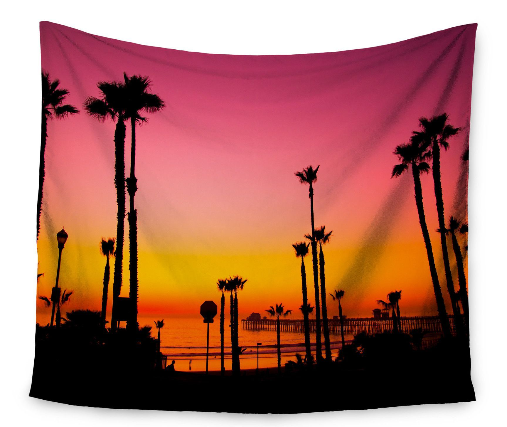 Pacific Dream by Juan Paolo Wall Tapestry