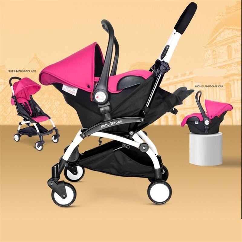 Baby cars seat stroller 4 in 1 folding umbrella bebe new