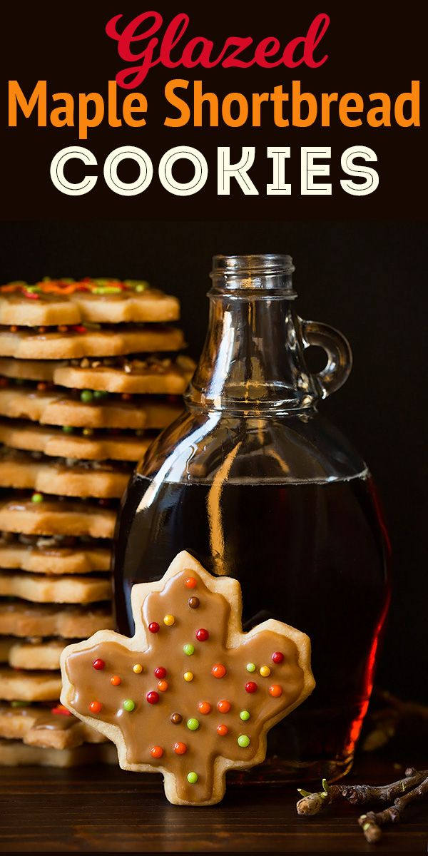 Glazed Maple Shortbread Cookies Cooking Classy Holiday Favs