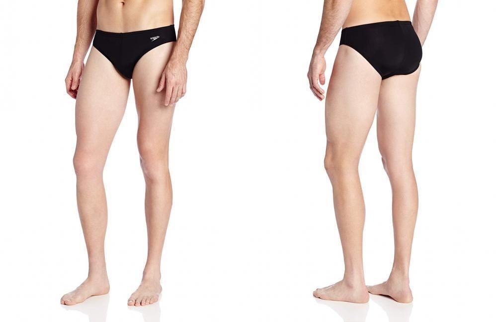 8f066b7c3b Speedo Men's Xtra Life Lycra Solar 1 Inch Brief Swimsuit Black 32 #fashion  #clothing #shoes #accessories #mensclothing #swimwear (ebay link)