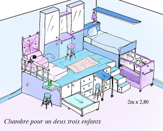 Podium pour chambre d 39 enfant modulable home sweet home - Estrade avec rangement ...