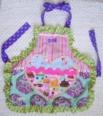 Cute apron.