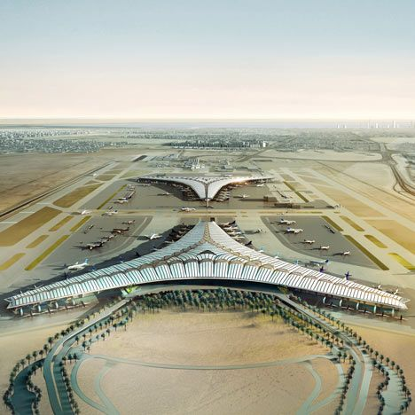 Kuwait International Airport By Foster And Partners Airport Design Foster Partners International Airport