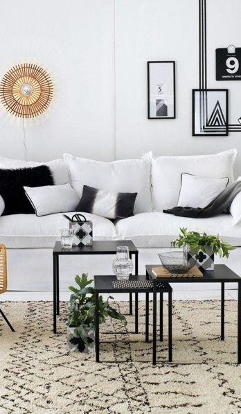 Un salon au style casual, chic et classique | Idées pour la maison ...