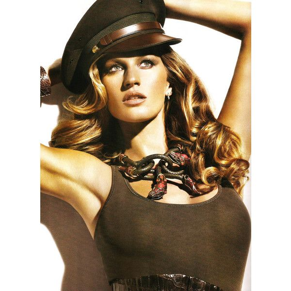Gisele Bundchen by Nino Muñoz for Vogue Mexico May 2010 found on Polyvore