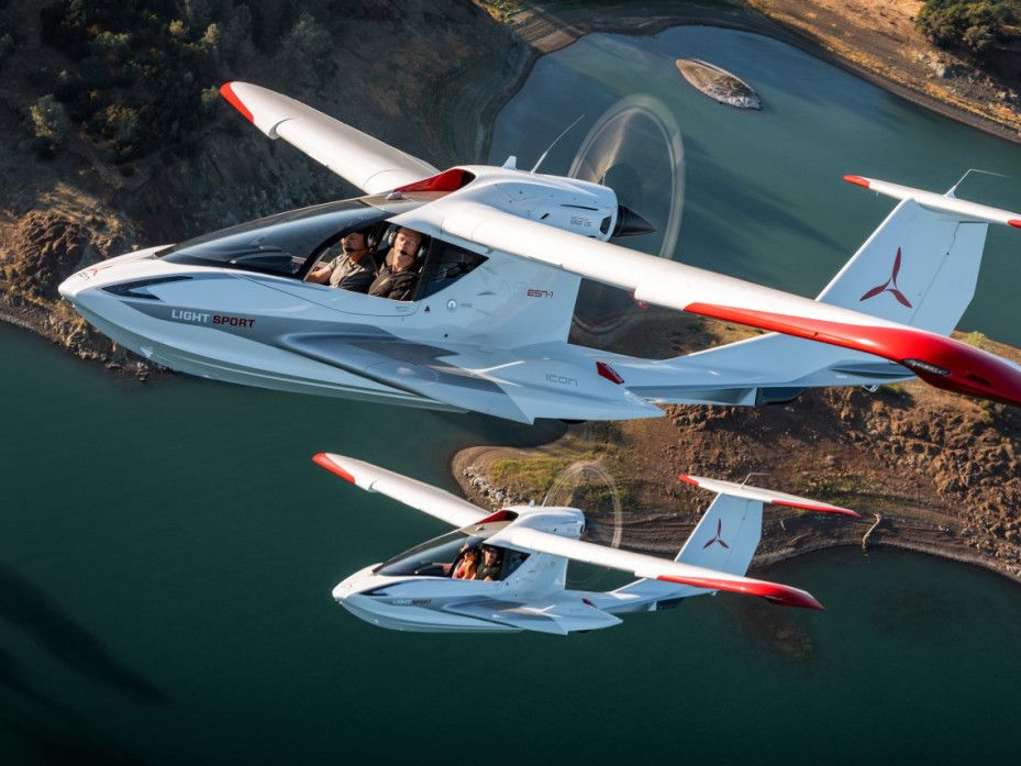 What It S Like To Fly And Stall In The Icon A5 Plane My